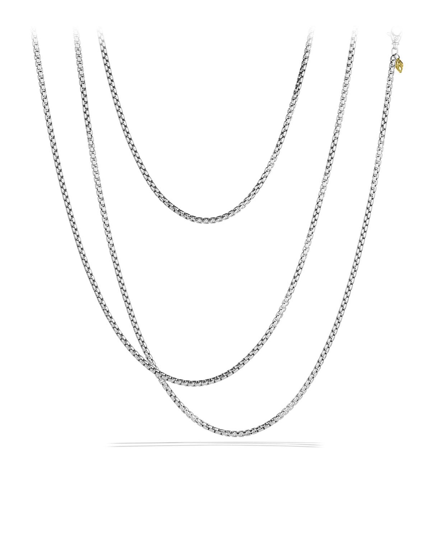 Medium Box Chain with Gold