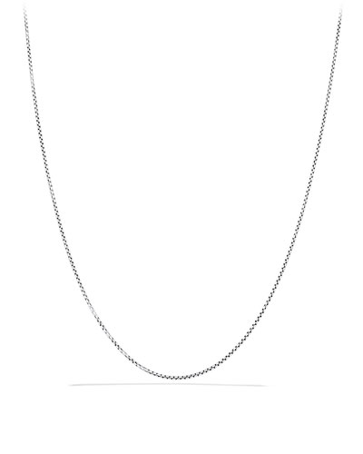 Baby Box Chain with Gold, 20
