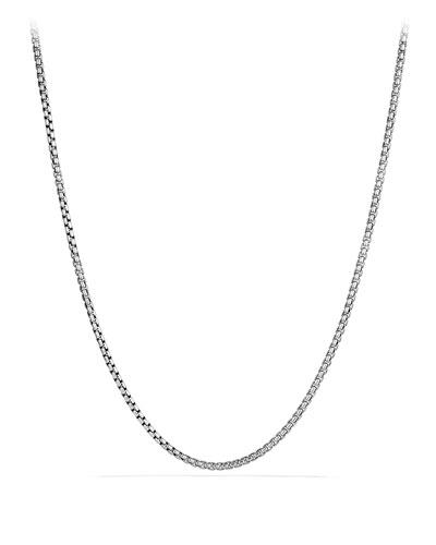 Medium Box Chain with Gold, 36