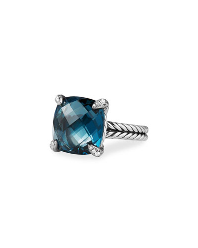 14mm Châtelaine Hampton Blue Topaz Ring