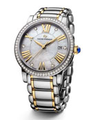The Classic® Timepiece, Steel & 18k Gold, 38mm