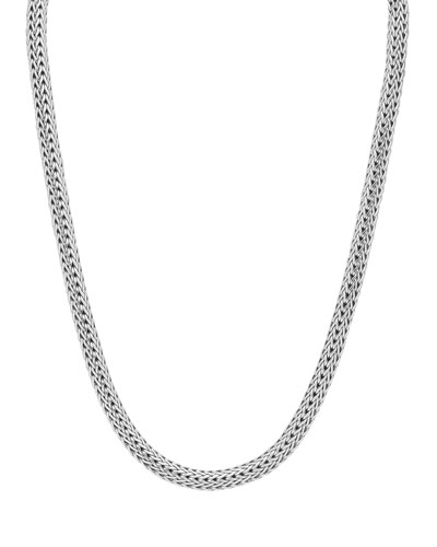 Small Classic Chain Necklace with Chain Clasp, 17