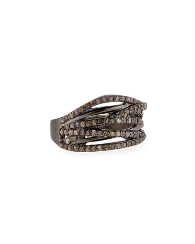 Diamond Branch Ring, Size 7