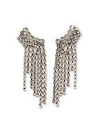 Etoile Isabel Marant Plated Brass Statement Waterfall Earrings
