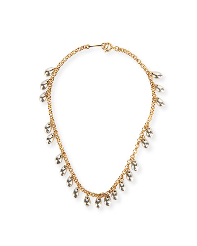 17251fca6fe94 Brass Link Chain Necklace | Neiman Marcus