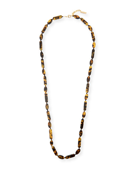 Lafayette 148 New York Long Resin Necklace
