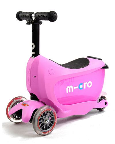Micro Kickboard Mini 2go 3 - in - 1 Scooter, Pink