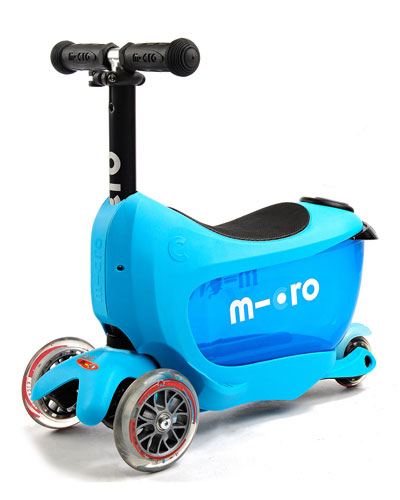 Micro Kickboard Mini 2go 3 - in - 1 Scooter, Blue