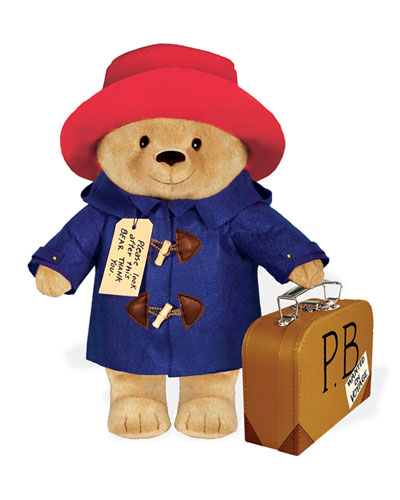 Paddington Bear w/ Suitcase