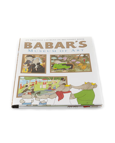 Babar's Museum of Art Hardcover Book