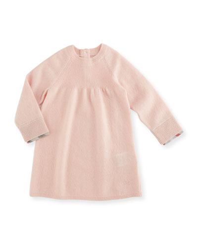 Ivanna Cotton Shift Dress, Pink, Size 6M-3