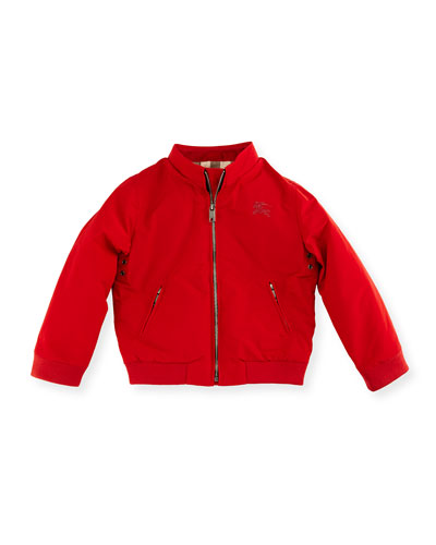 Bradford Zip-Front Jacket, Red, Size 12M-3