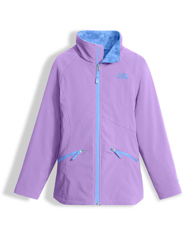 Mossbud Soft Shell Jacket, Purple, Size XXS-L