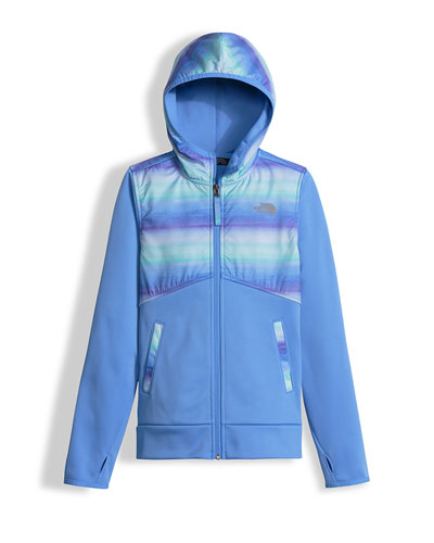 Kickin' It Hooded Fleece Jacket, Blue, Size XXS-L