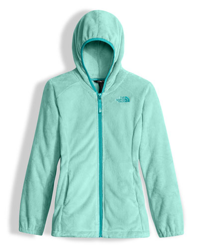 Oso 2 Hooded Fleece Jacket, Breeze Blue, Size XXS-L