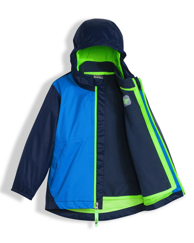 Stormy Rain Triclimate® Hooded Jacket, Blue, Size 2-4T