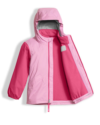 Stormy Rain Triclimate® Hooded Jacket, Pink, Size 2-4T