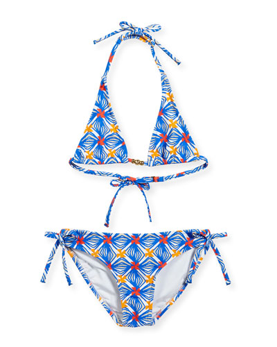 Mosaic Fiji Two-Piece Swimsuit, Sizes 8-14