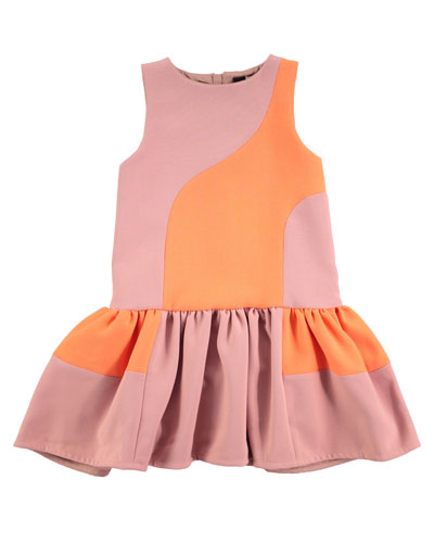 Canal Drop-Waist Dress, Sizes 2T/3T-11/12
