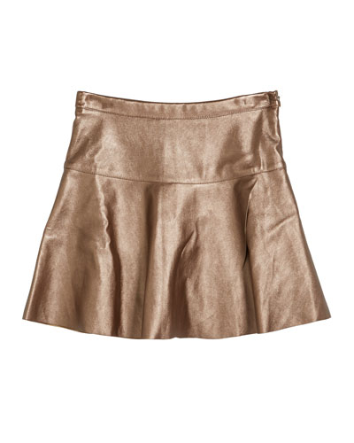 2931d52c71 Quick Look. Imoga · Ingrid Faux-Leather Overlap Skirt, Size 2-6