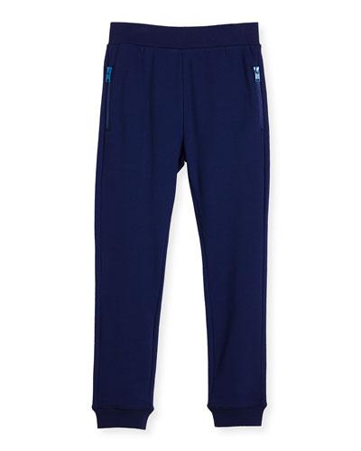 Joseph Basic Sweatpants, Blue, Size 4-10