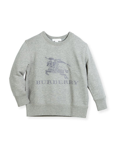 Boys' Mini Tom Logo Embroidery Sweatshirt, Size 4-14