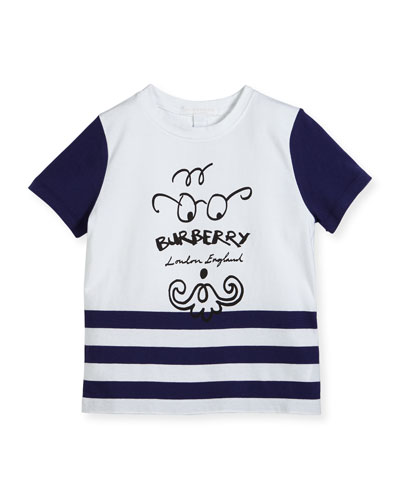 Boys' Finn Logo T-Shirt, Size 4
