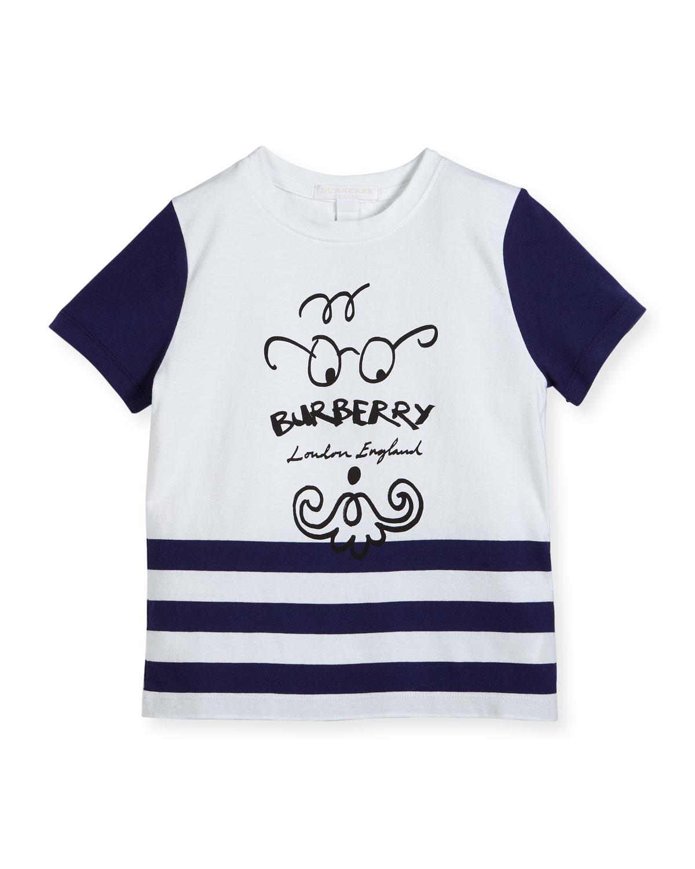 Boys' Finn Logo T-Shirt, Size 4-14
