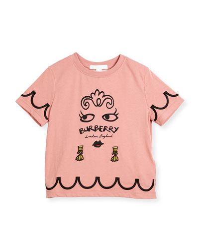 Girls' Fiona Logo Graphic T-Shirt, Size 4-14