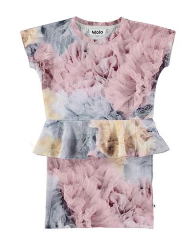 Christina Bella Bella Peplum Dress, Multicolor, Size 2T-12
