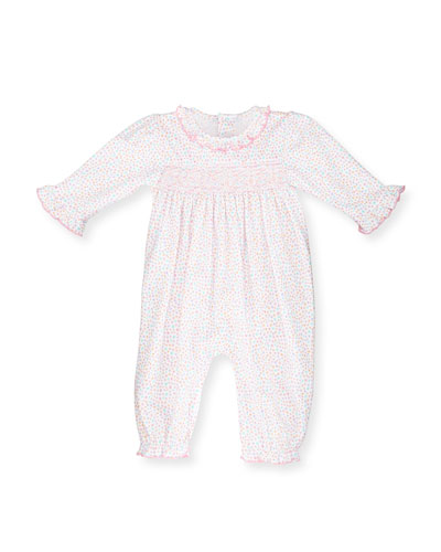 Darling Dachshunds Pima Coverall, Pink, Size 9-24 Months