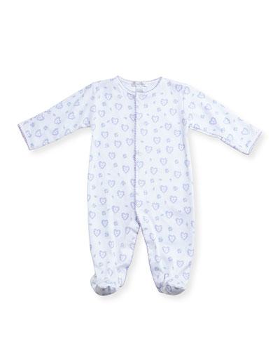 Fleur de L'Amour Footie Pajamas, Size 0-9 Months