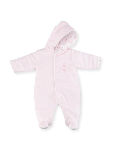 Hood Reversible Footie Pajamas, Size 0-9 Months