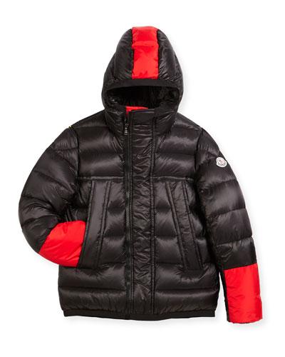 Boys' Drake Colorblock Down Jacket, Size 8-14