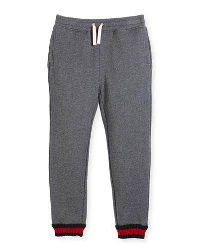 Boys' Cotton Jogger Pants, Size 4-12