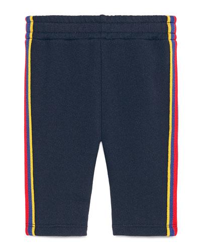 Web Trim Jogger Pants, Size 6-36 Months