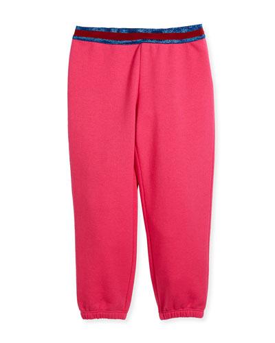Web-Trim Jogging Pants, Size 4-12