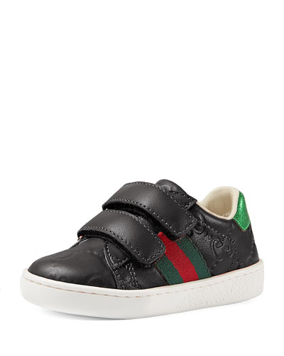 GG Supreme Leather Sneaker, Youth