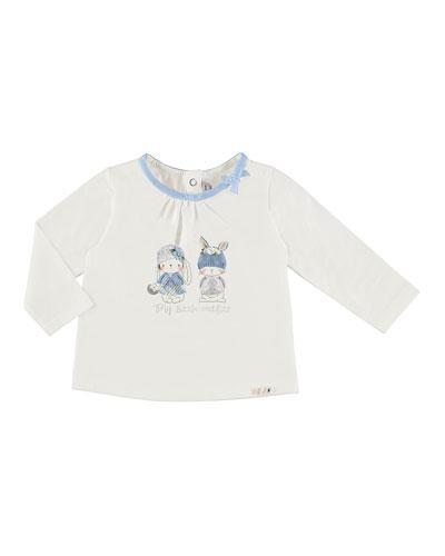 Long-Sleeve Bunnies T-Shirt, Size 6-36 Months