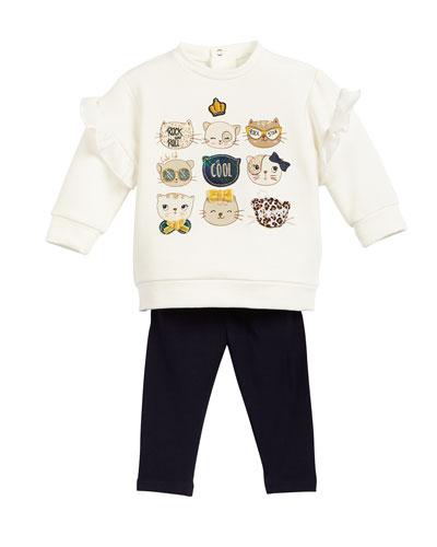 Knit Jean Leggings, Size 6-36 Months