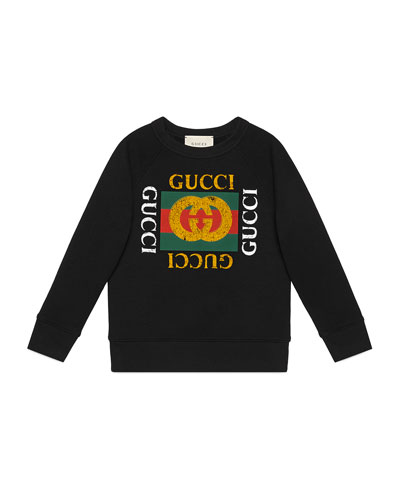 Logo Sweatshirt | Neiman Marcus