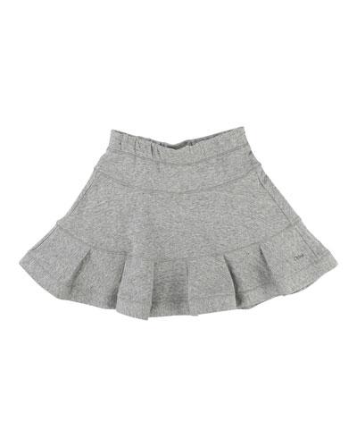 Girls' Flare Skirt, Size 6-10