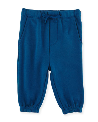 Zachary Basic Sweatpants, Blue, Size 12-36 Months