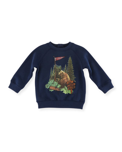 Billy Bear Graphic Sweatshirt, Size 12-36 Months