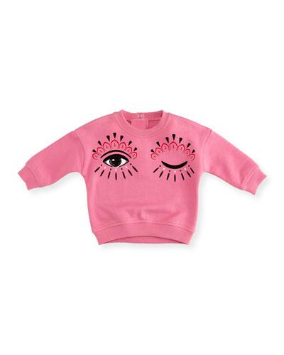 Eyes Graphic Sweatshirt, Size 12-18 Months