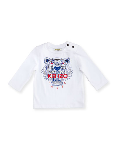 Long-Sleeve Tiger Tee, Size 12-18 Months