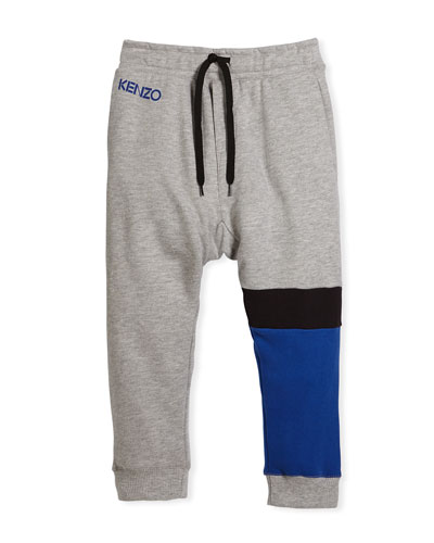 Colorblock Sweatpants, Size 8-12