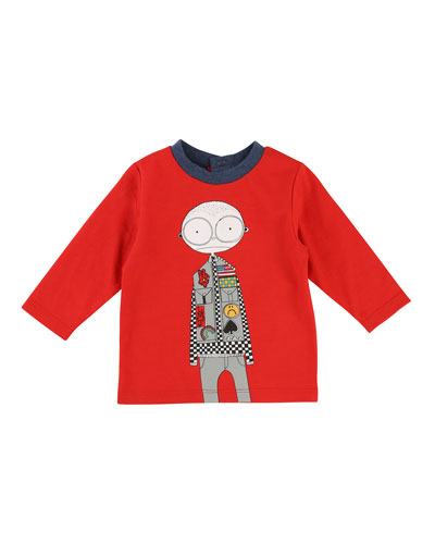 Mister Marc Essentials Long-Sleeve Graphic Tee, Size 12-18 Months