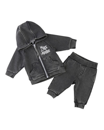 Rocks Jogging Jacket w/ Trousers, Size 2-3