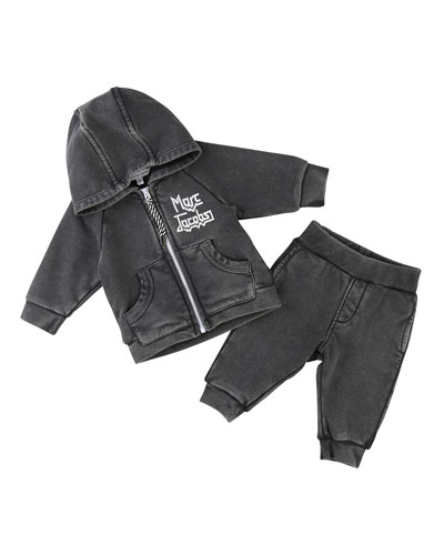 Rocks Jogging Jacket w/ Trousers, Size 12-18 Months